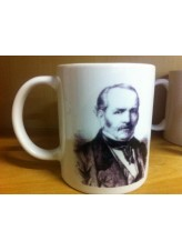 Caneca Allan Kardec - Espíritas Amais-vos - De: R$ 25,00 Por:
